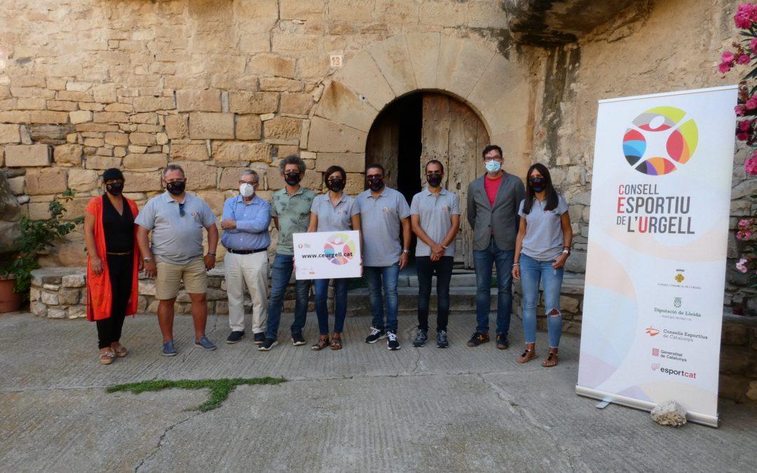 Presentem la nova imatge i página web del Consell Esportiu de l'Urgell