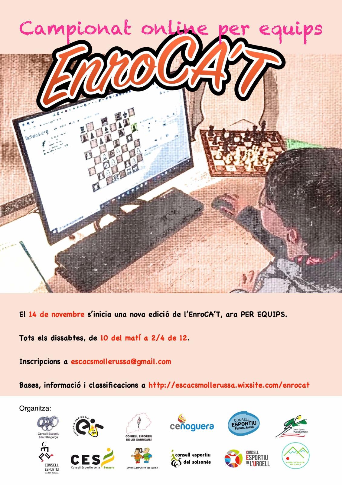 Campionat d'escacs online per equips