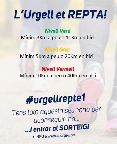 Repte 1 de l'Urgell et repta!