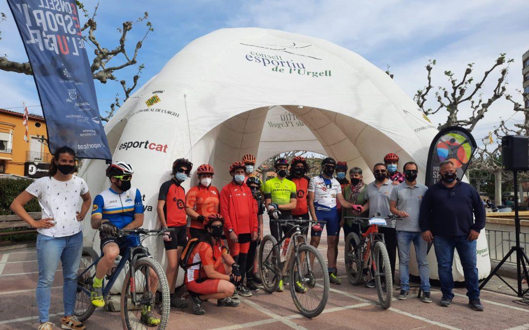 Col·laborem en la recaptació de més de 500€ per al Grup Alba amb el repte esportiu de Jaume Rovira