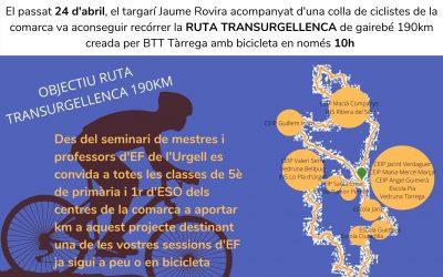 DONEM LA VOLTA A L'URGELL – Repte esportiu i solidari escolar